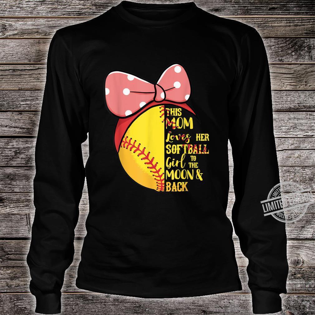 This Mom Loves Her Softball Girl Bandana Passion Sport Shirt long sleeved