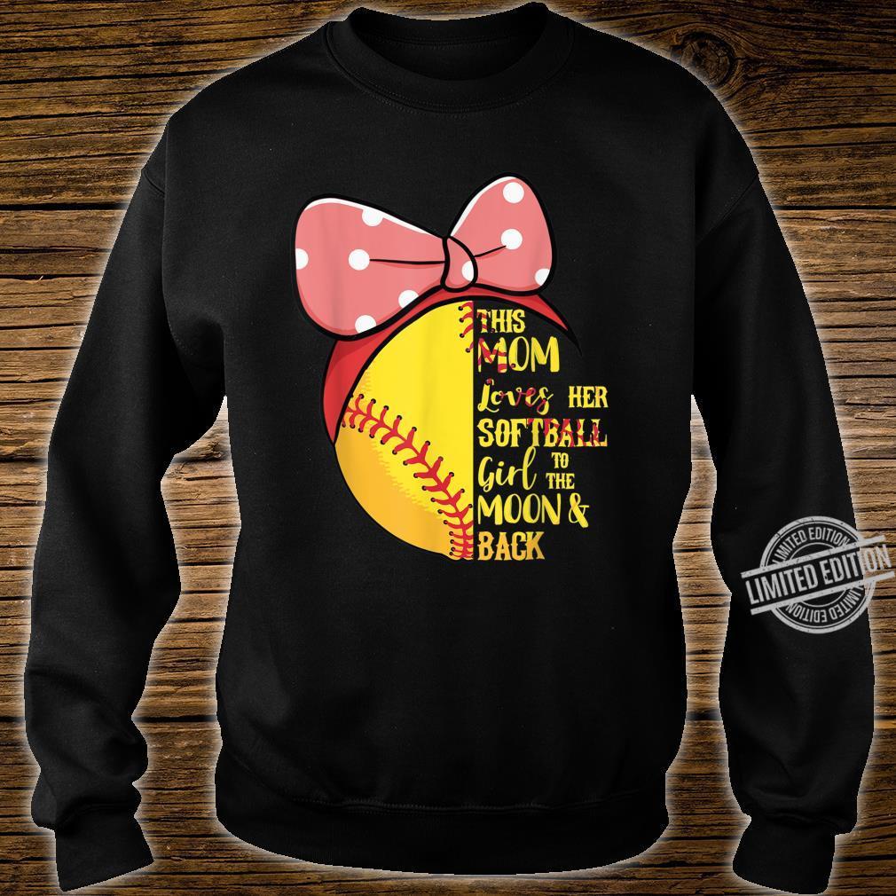 This Mom Loves Her Softball Girl Bandana Passion Sport Shirt sweater