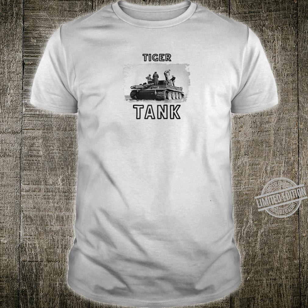 Tiger Tank Cool Historical World War 2 WW2 German Panzer Shirt