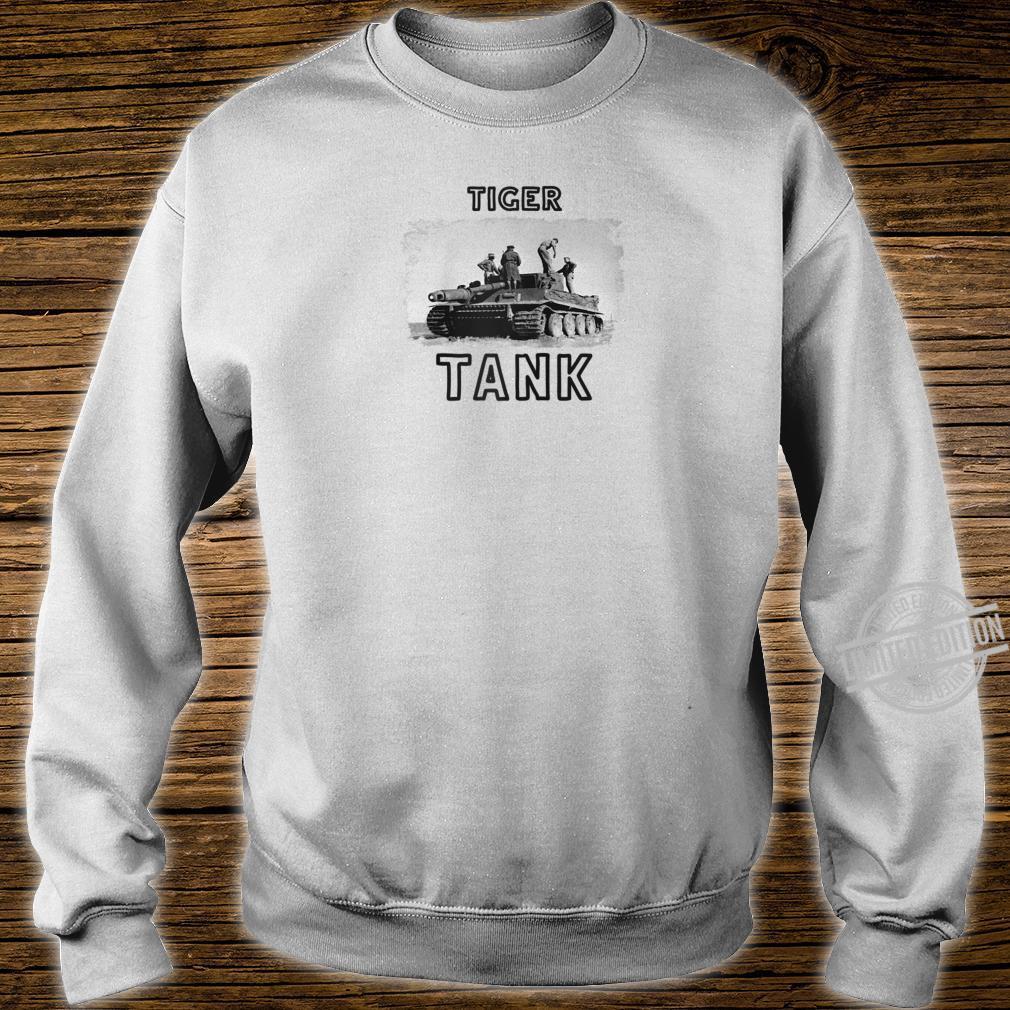 Tiger Tank Cool Historical World War 2 WW2 German Panzer Shirt sweater