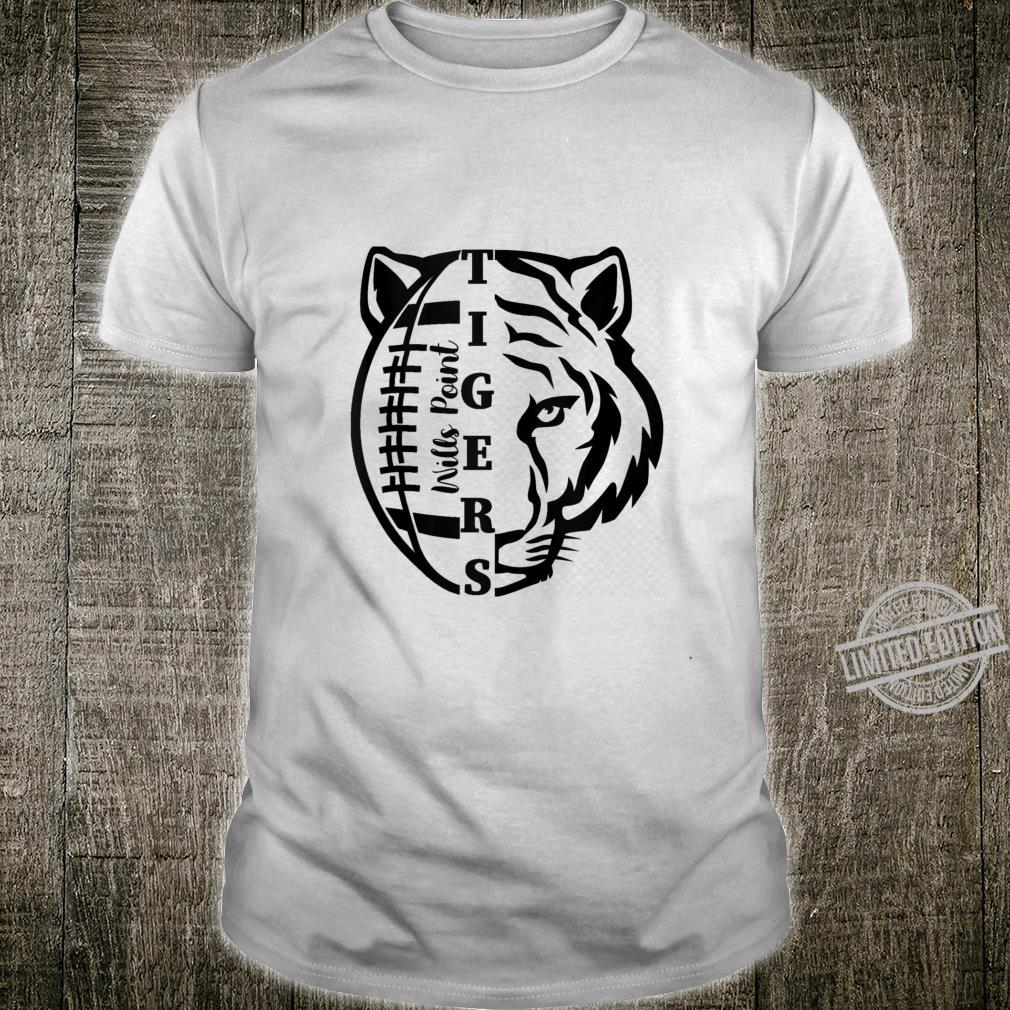 Tigers Football Design Shirt