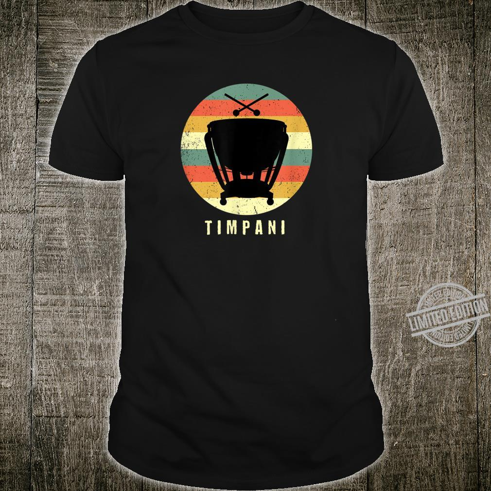 Timpani Distressed Timpani Player Shirt