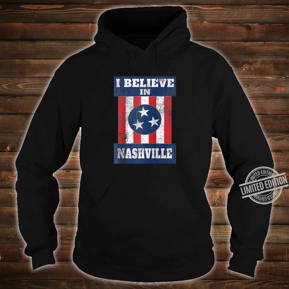 Tornado Nashville Strong I Believe In Tennessee Distressed Shirt hoodie