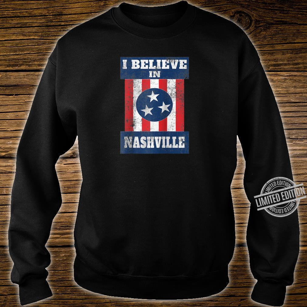 Tornado Nashville Strong I Believe In Tennessee Distressed Shirt sweater