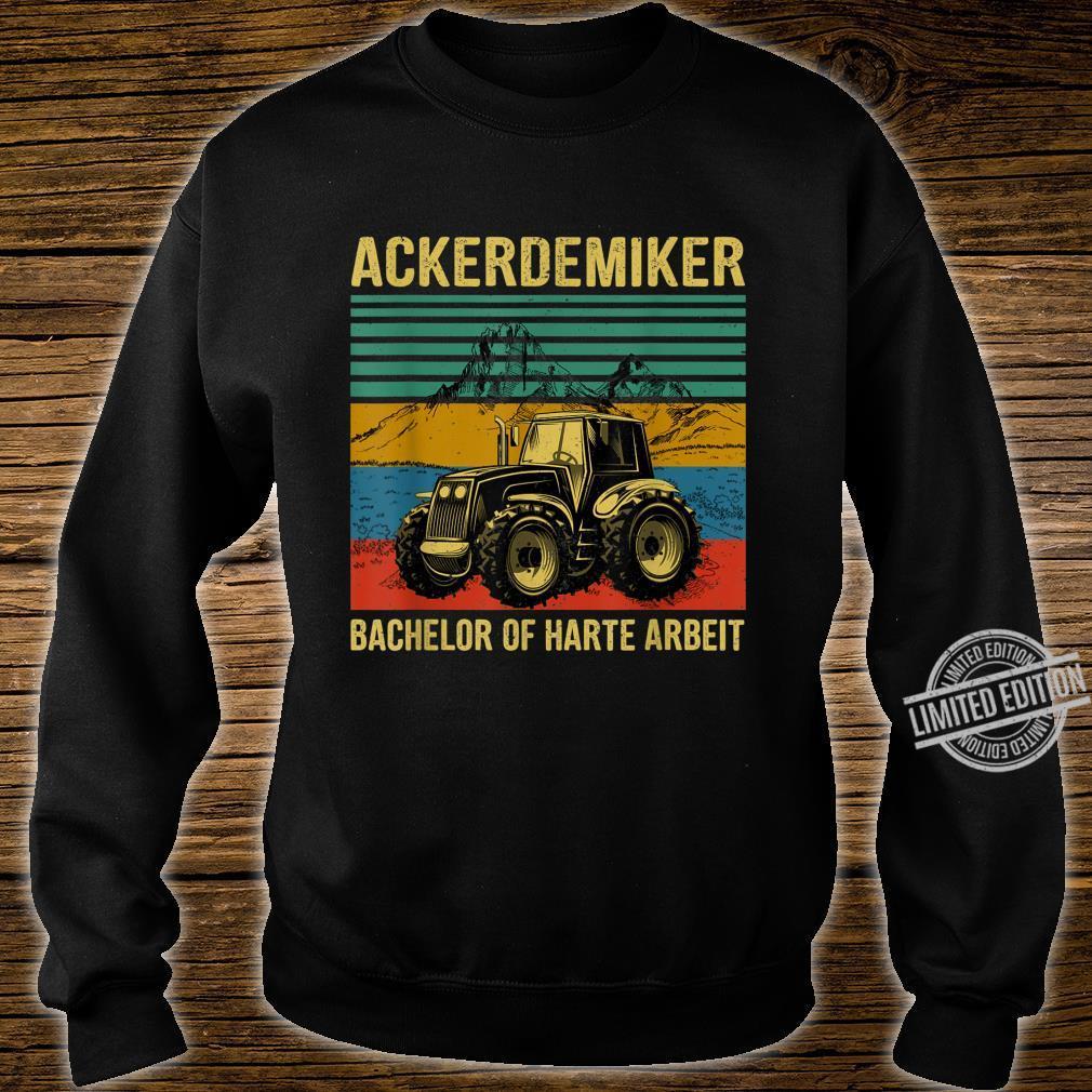 Tractor Bachelor Of Hard Work Shirt sweater