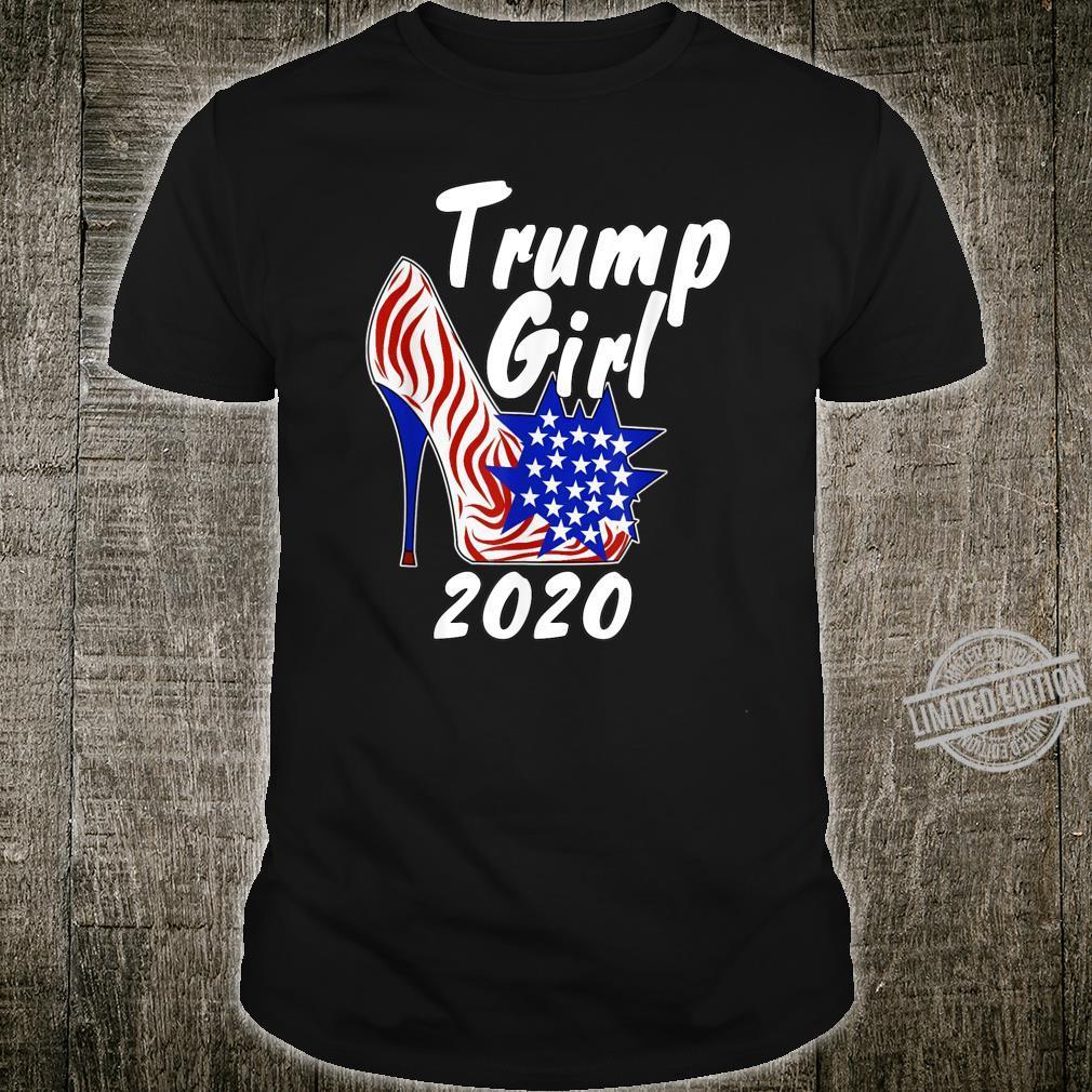 Trump Girl High Heel 2020 Supporter Shirt