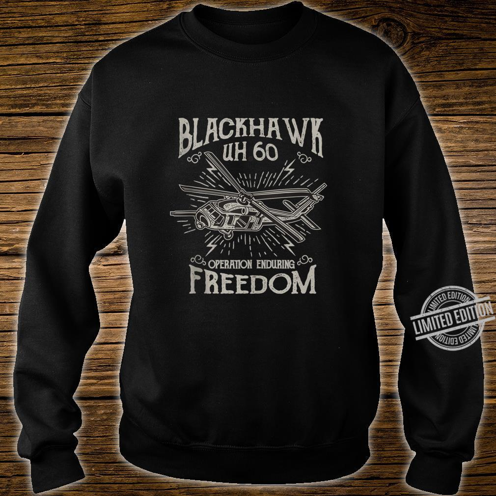 UH60 Blackhawk Military Helicopter Shirt sweater