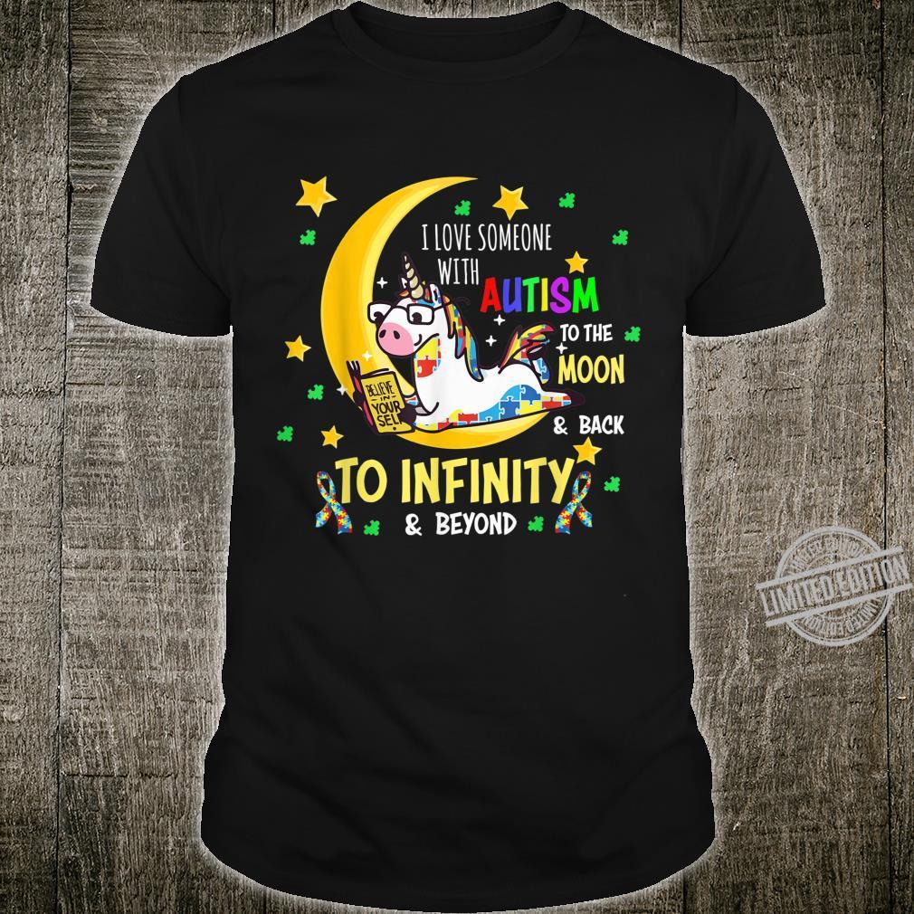 Unicorn Autism Awareness I Love Someone With Autism Shirt