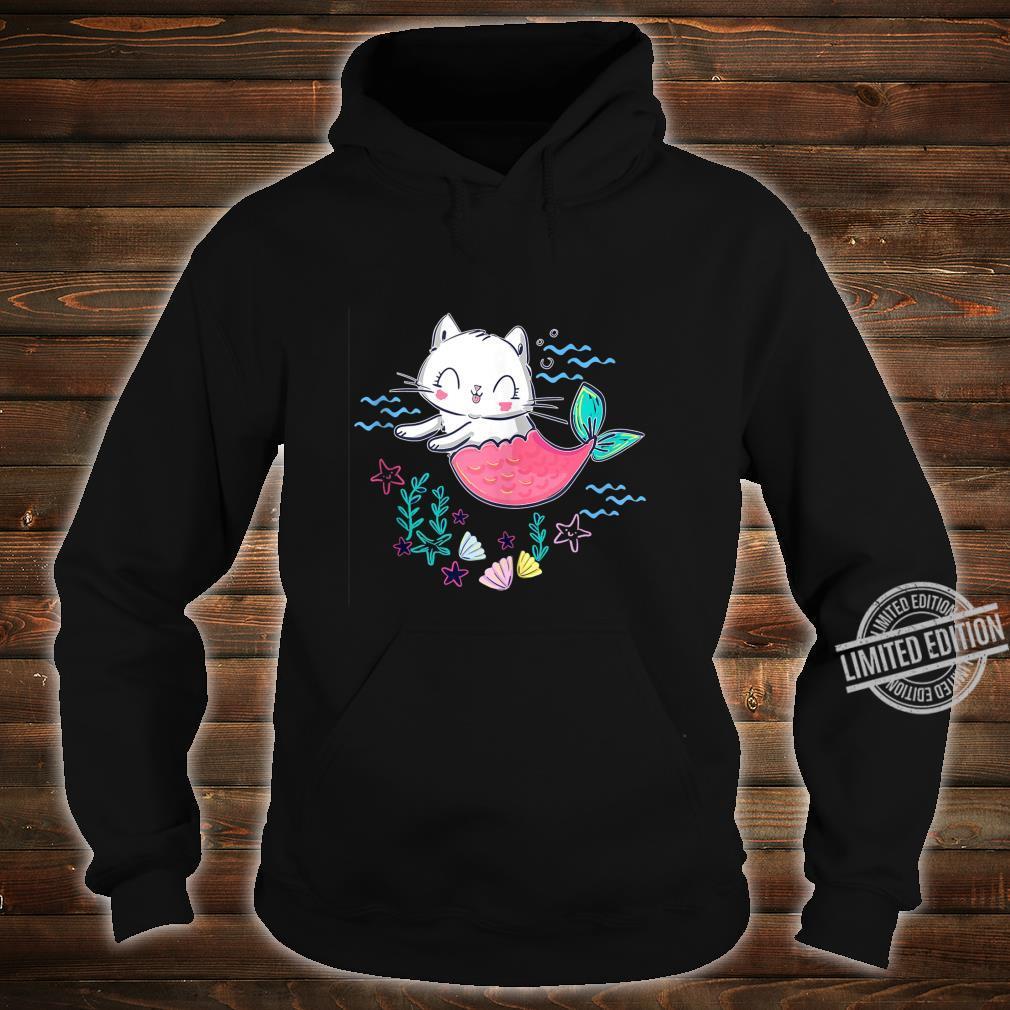 Unicorn Mermaid Cat Cute Kitty Of The Sea Shirt hoodie