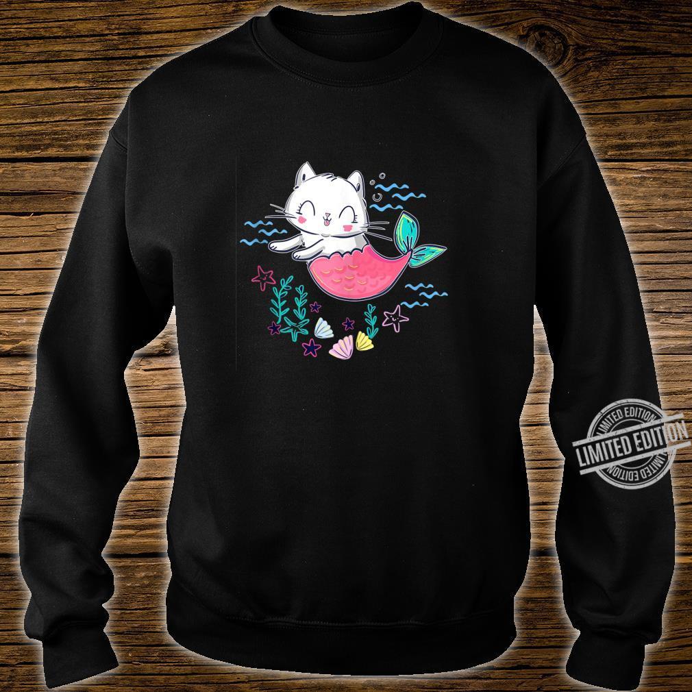 Unicorn Mermaid Cat Cute Kitty Of The Sea Shirt sweater