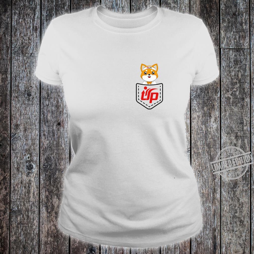 UpLift Martial Arts pocket logo updog Shirt ladies tee