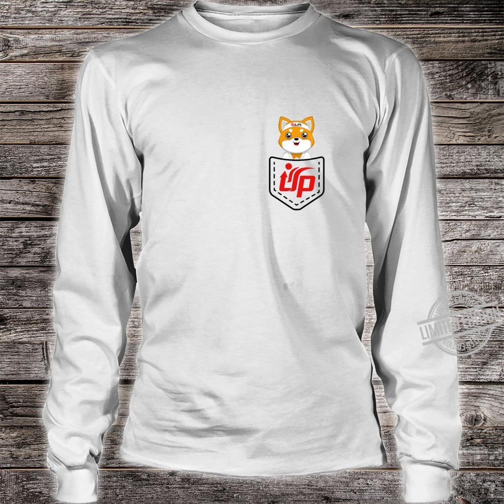 UpLift Martial Arts pocket logo updog Shirt long sleeved