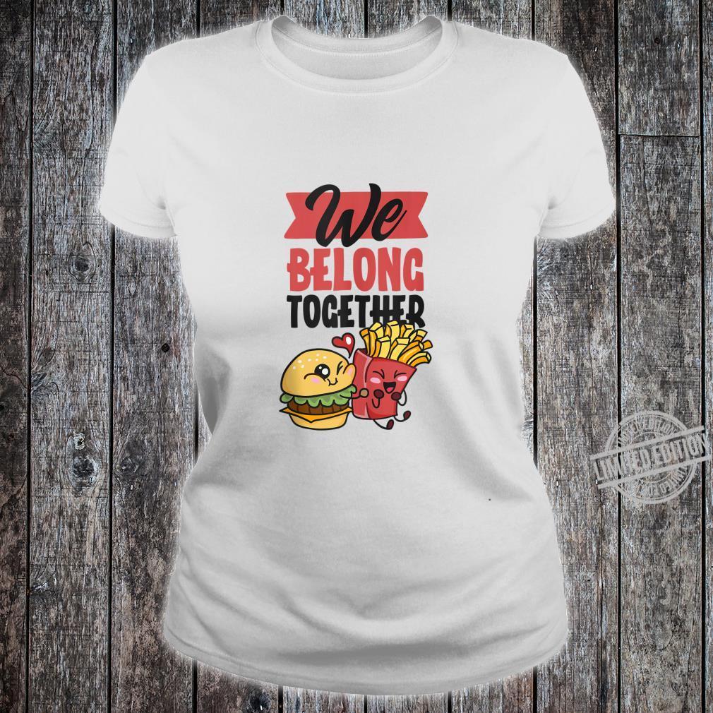 Valentine's Day Couple Love Girlfriend Boyfriend Shirt ladies tee