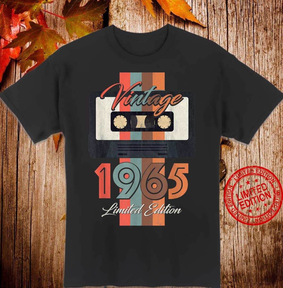 Vintage 1965 Limited Edition Gift 55th Birthday Shirt