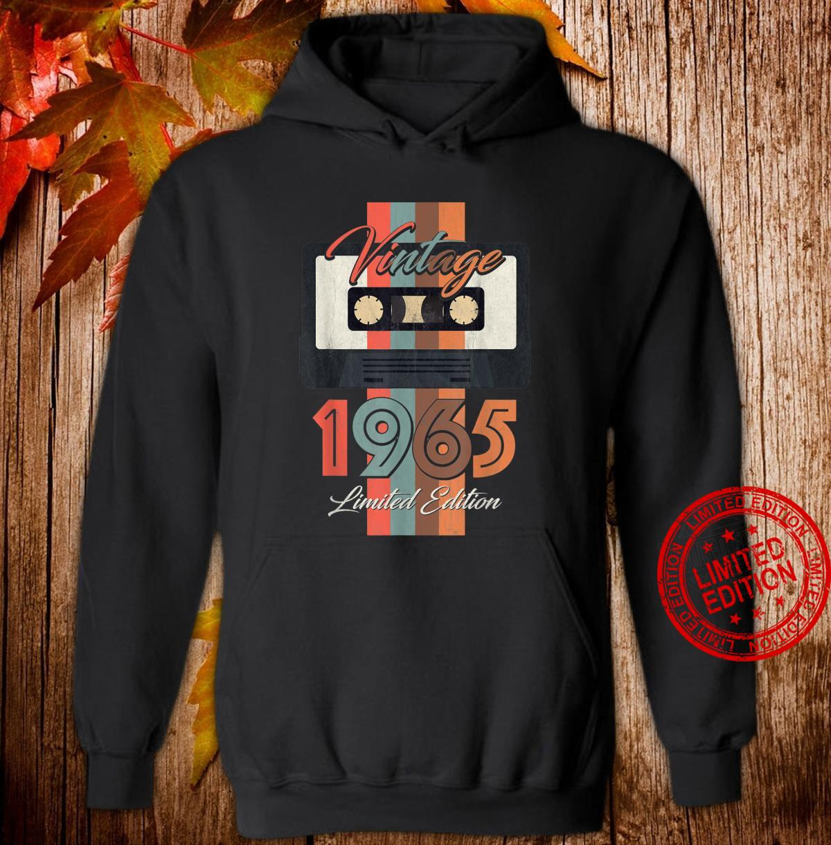 Vintage 1965 Limited Edition Gift 55th Birthday Shirt hoodie