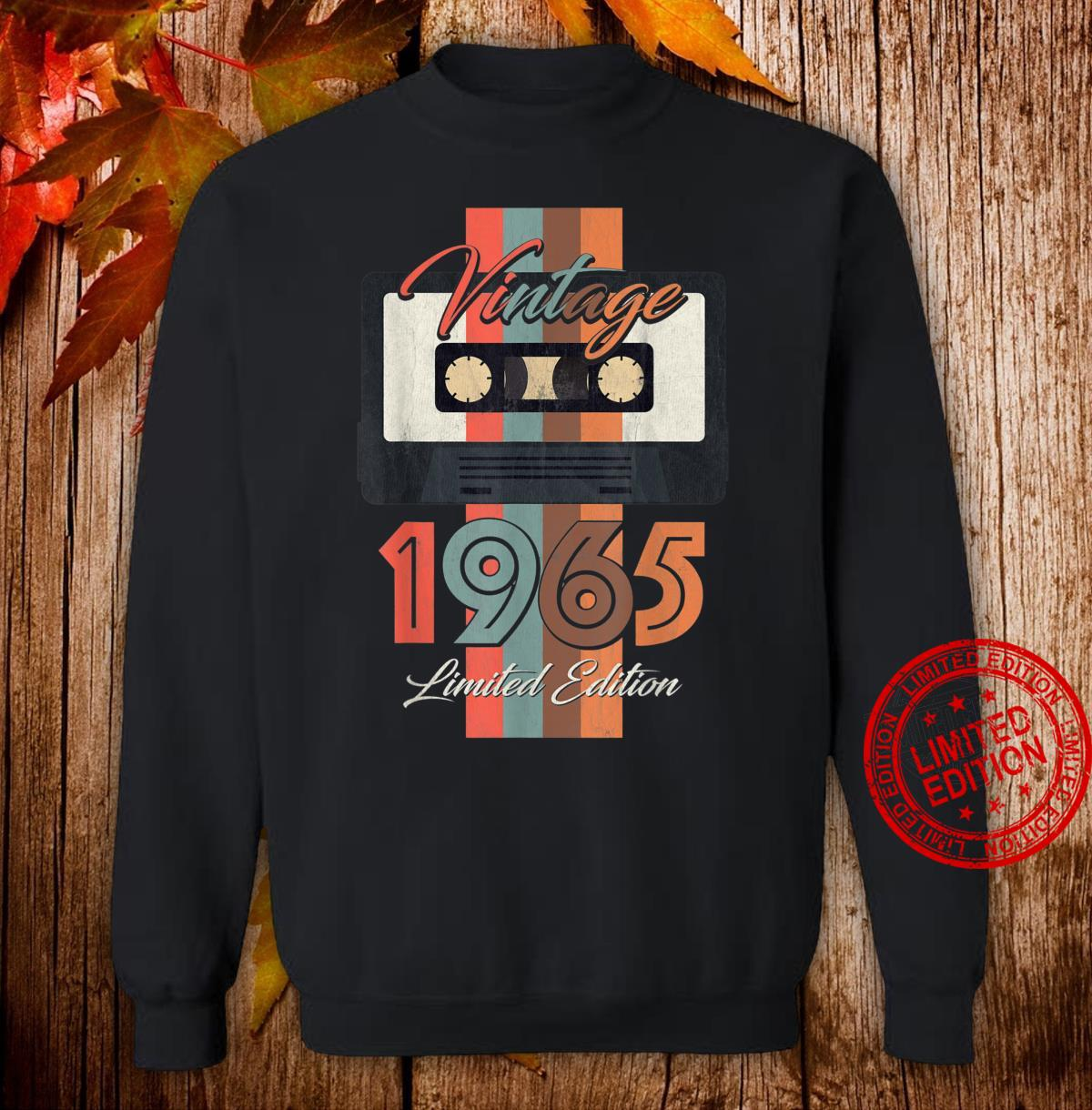 Vintage 1965 Limited Edition Gift 55th Birthday Shirt sweater