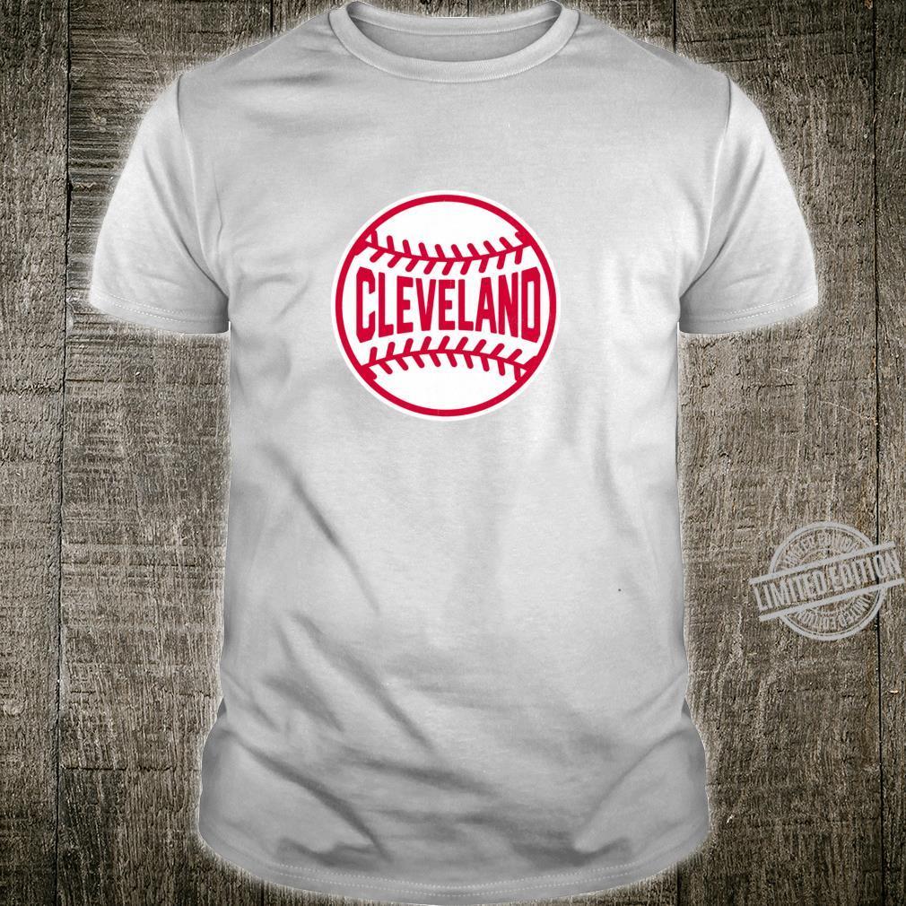 Vintage Cleveland Baseball Stitches Shirt