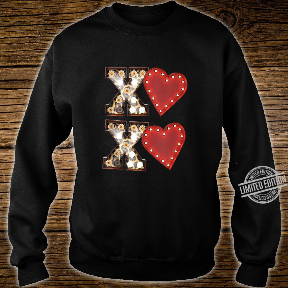 Vintage Hearts Cool Retro Valentines Day Shirt sweater