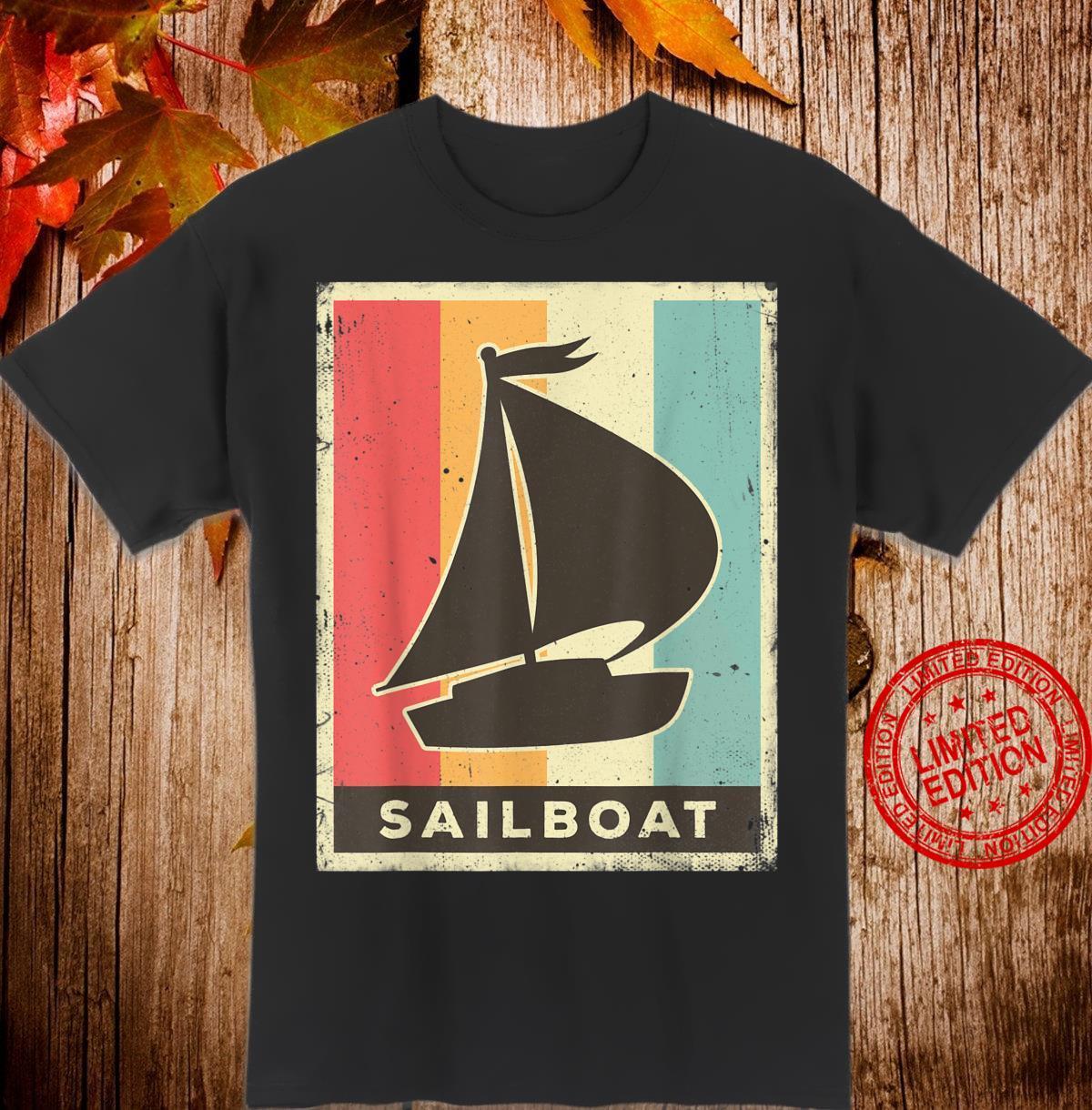 Vintage Sailboat Retro Shirt