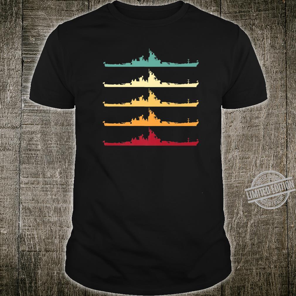 Vintage USS Wisconsin BB64 Battleship Shirt