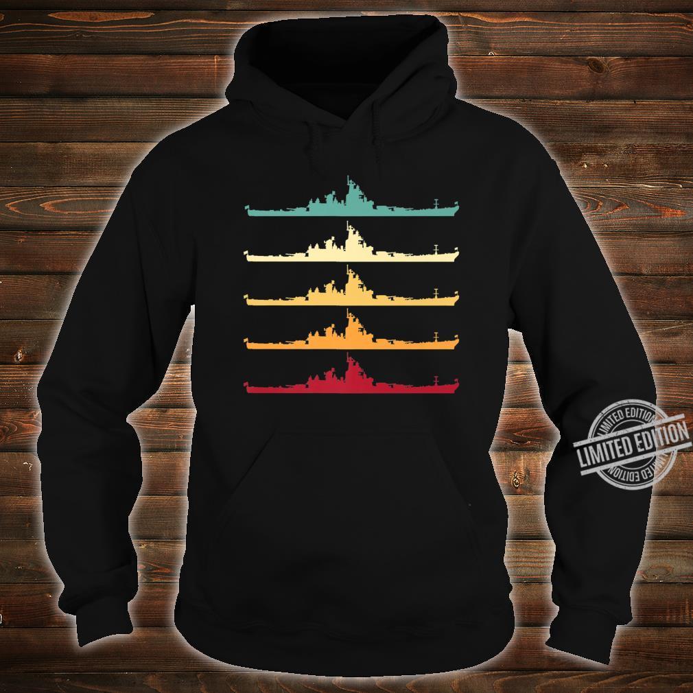 Vintage USS Wisconsin BB64 Battleship Shirt hoodie