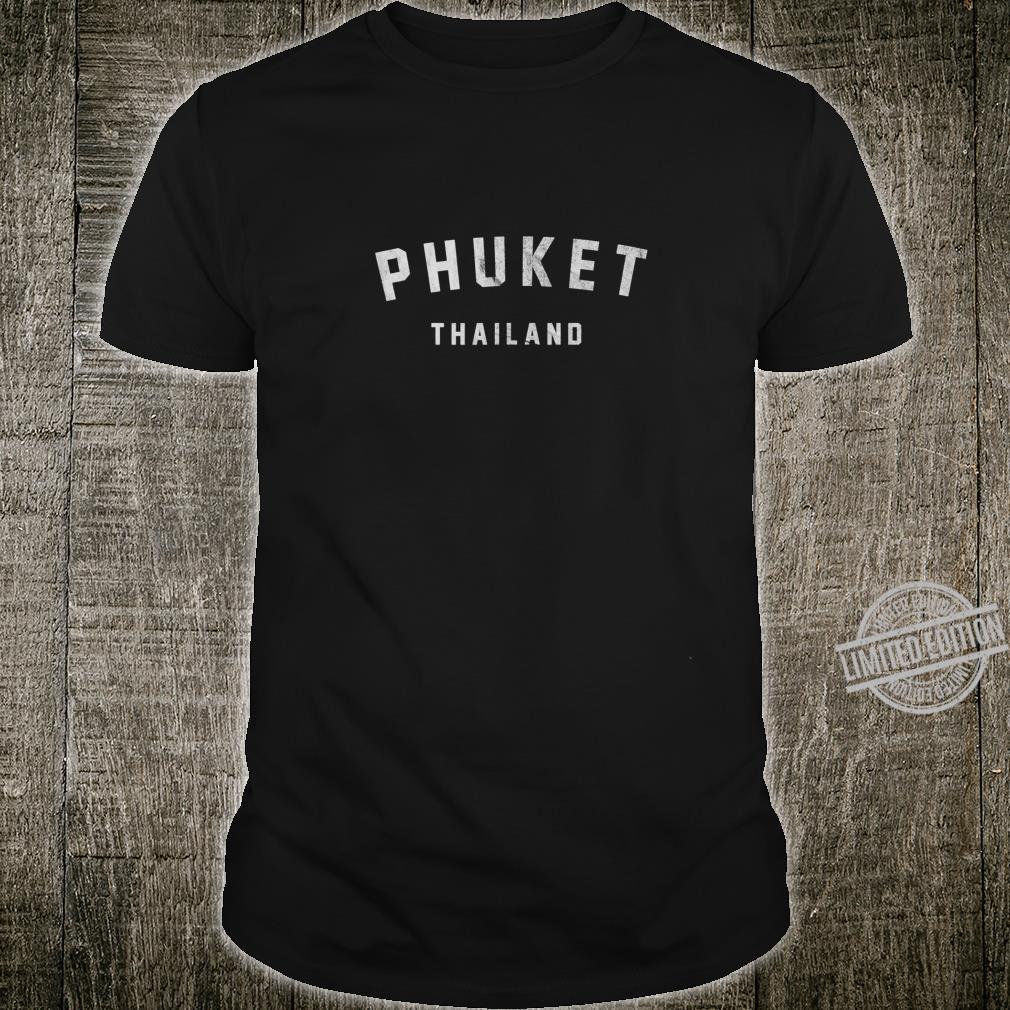 Vintage Varsity Phuket Shirt