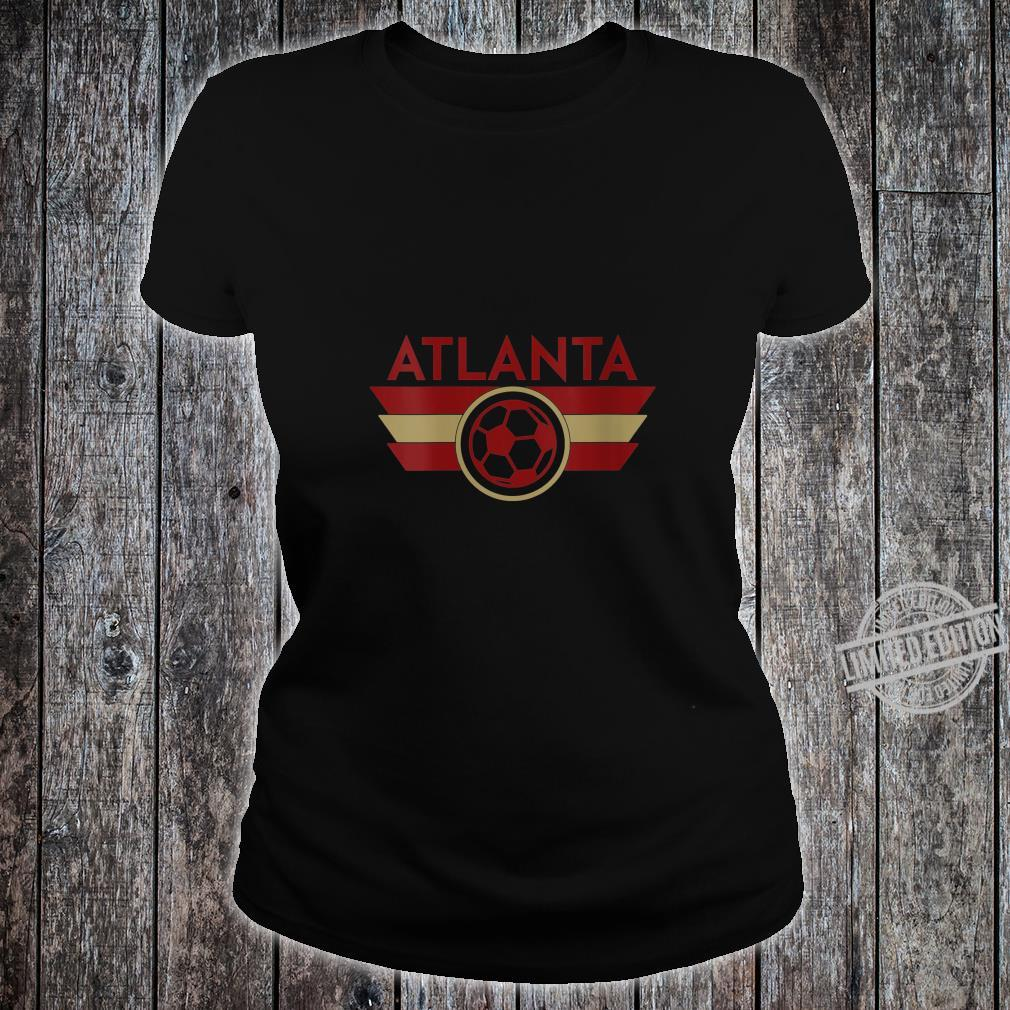 Womens Atlanta Soccer Jersey Style United Football Shirt ladies tee