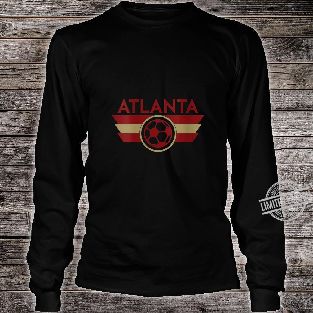 Womens Atlanta Soccer Jersey Style United Football Shirt long sleeved