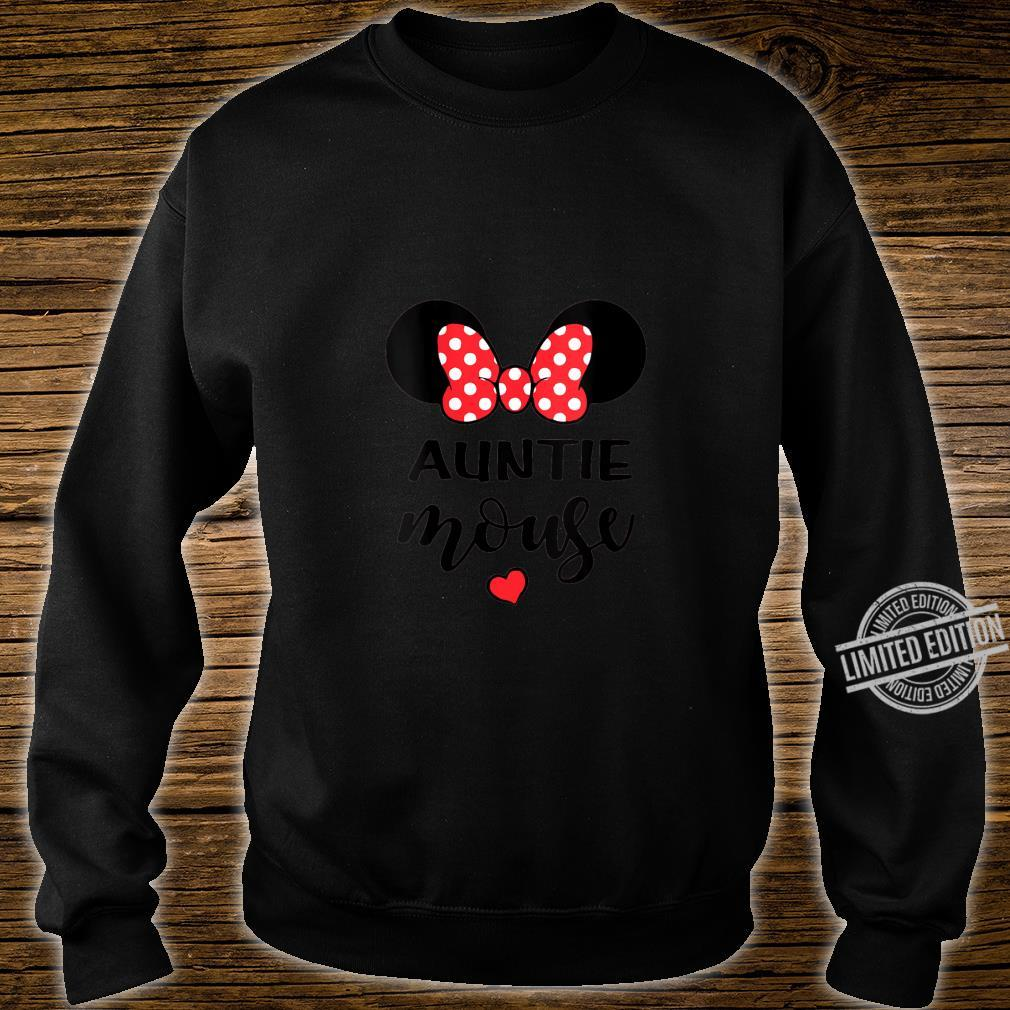 Womens Auntie Mouse, Cool Aunt Birthday Party Shirt sweater