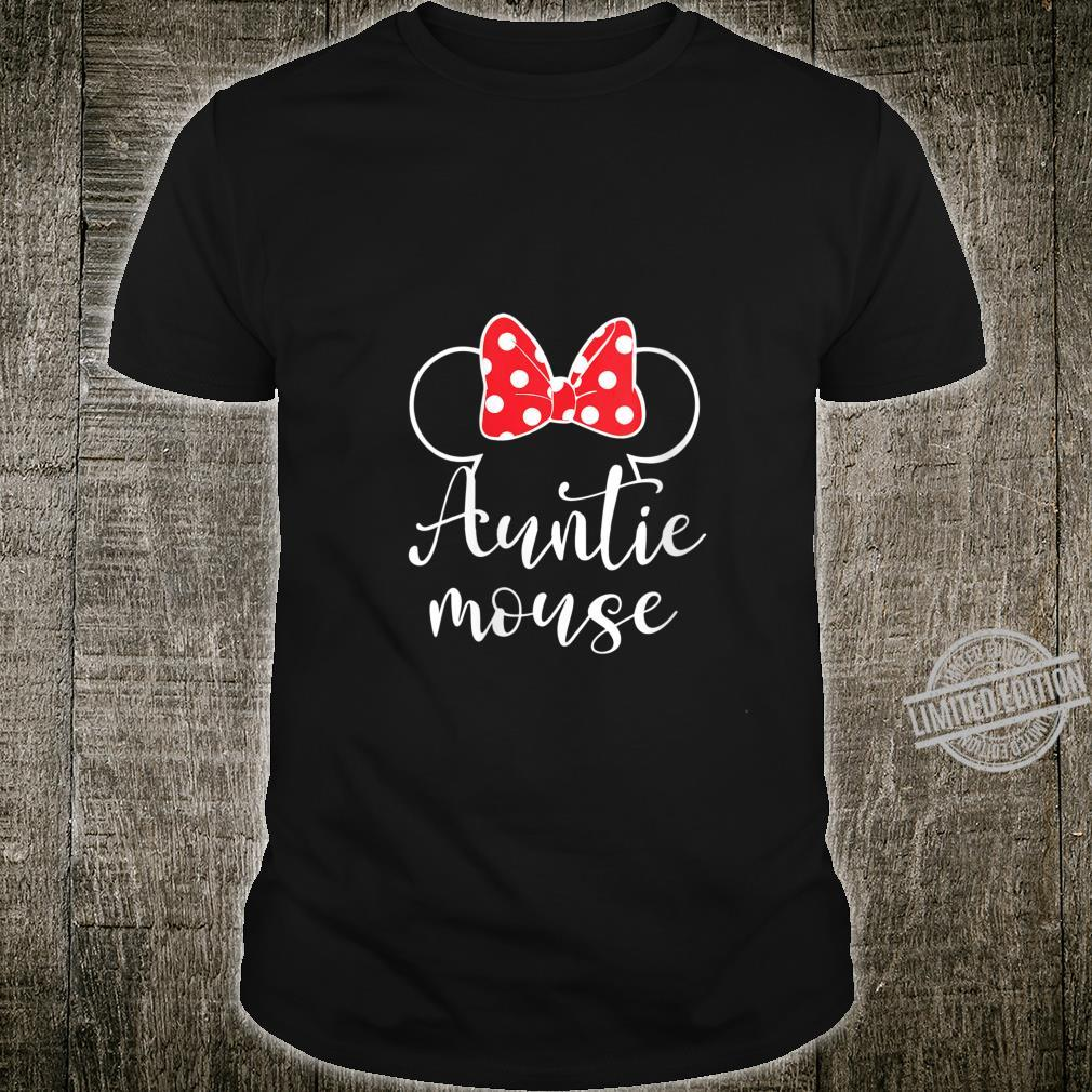 Womens Auntie Mouse Tee, Aunt, Aunt Birthday Party Shirt