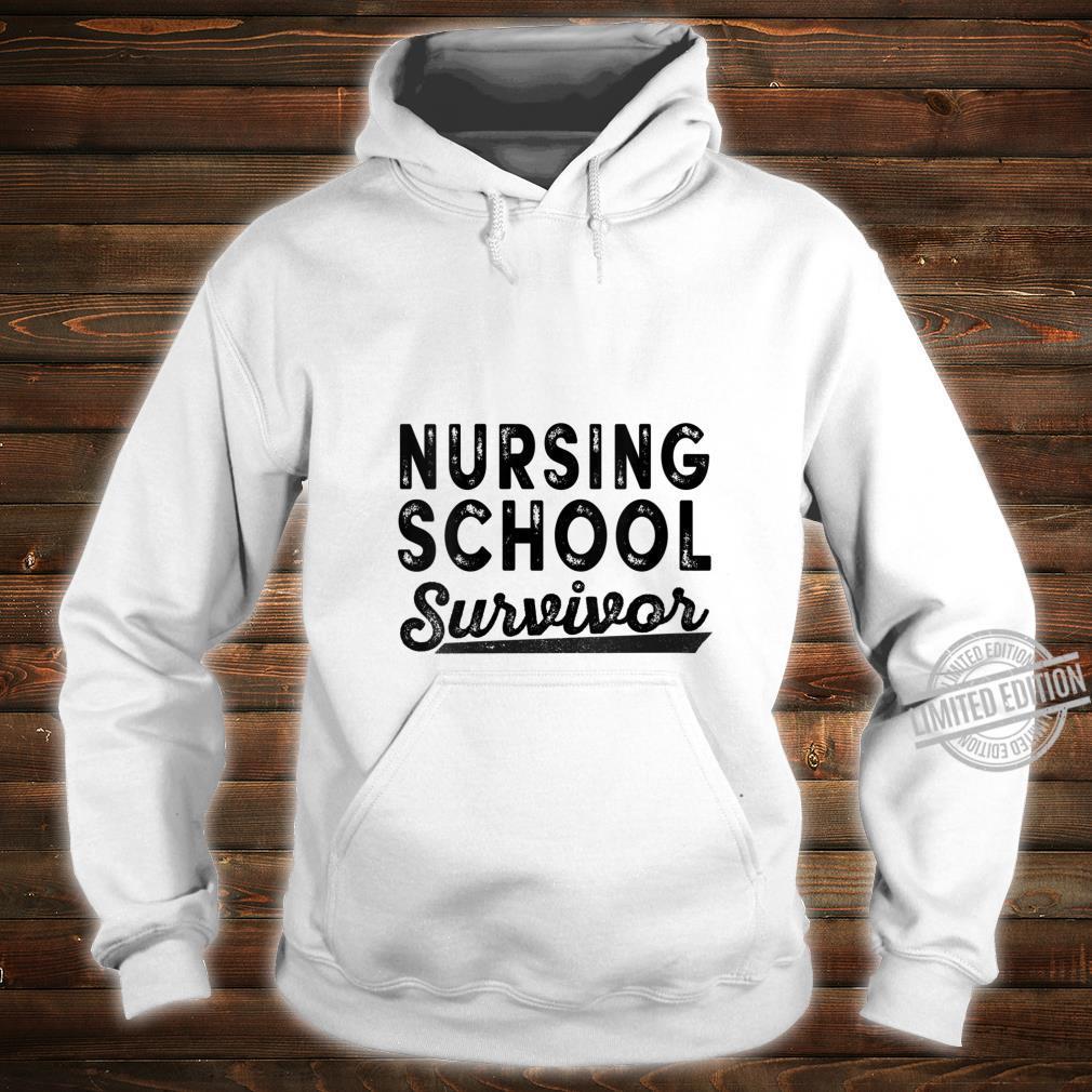 Womens Nursing School Survivor 2020 Shirt hoodie