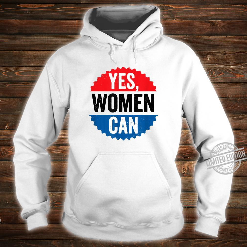 Yes Can Vintage Inspirational Positive Saying Circle Shirt hoodie