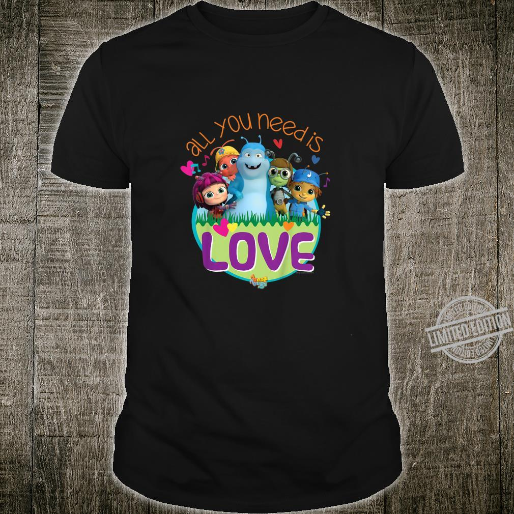 Youth Beat Bugs Official All You Need Is Love Shirt
