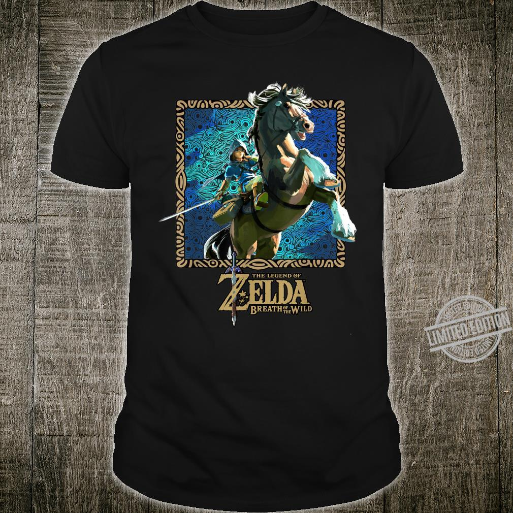 Zelda Breath Of The Wild Patterned Poster Shirt